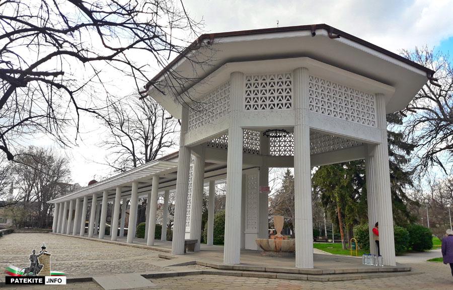Римска колонада в Хисаря