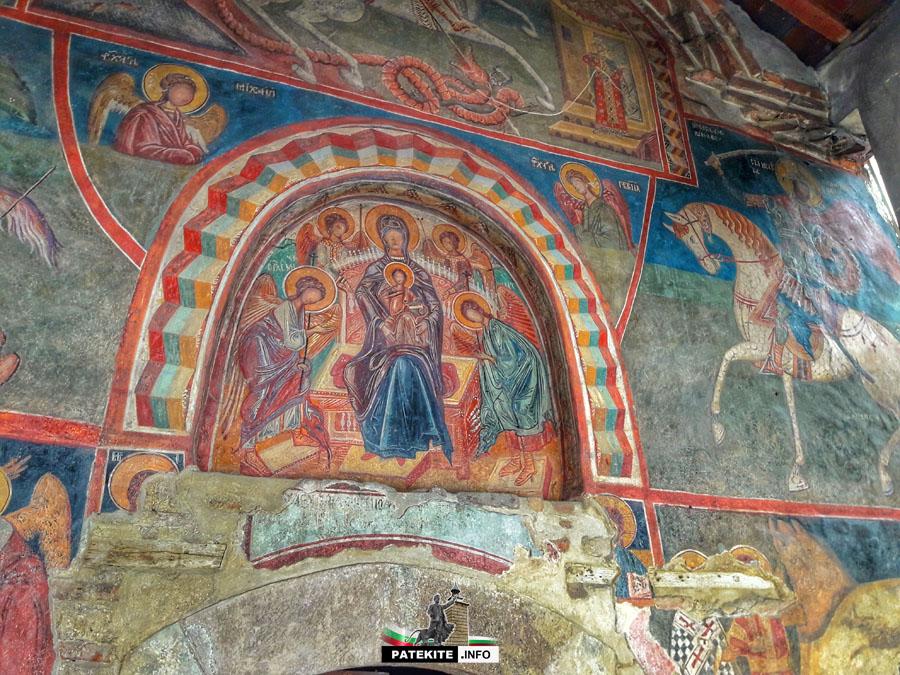 Драгалевски манастир - стенописи