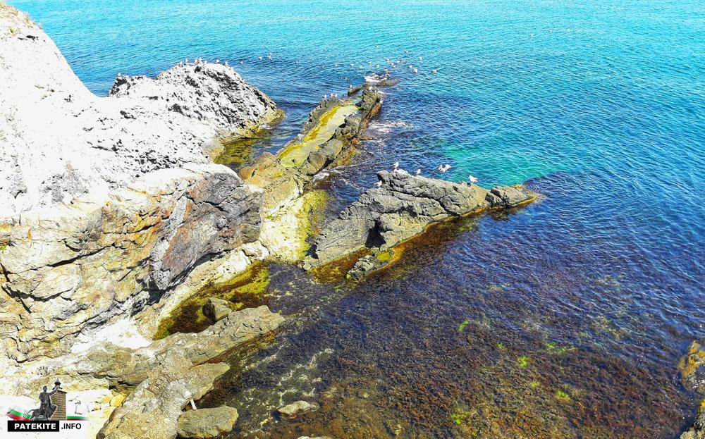 остров Света Анастасия - корабът