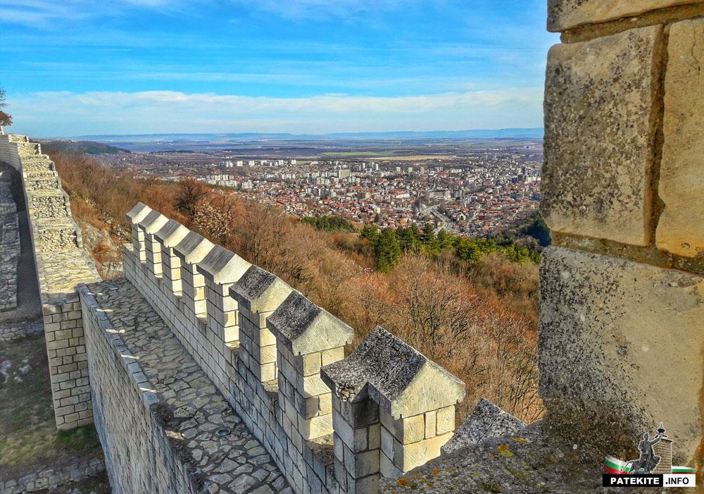 Изглед към Шумен от крепостта