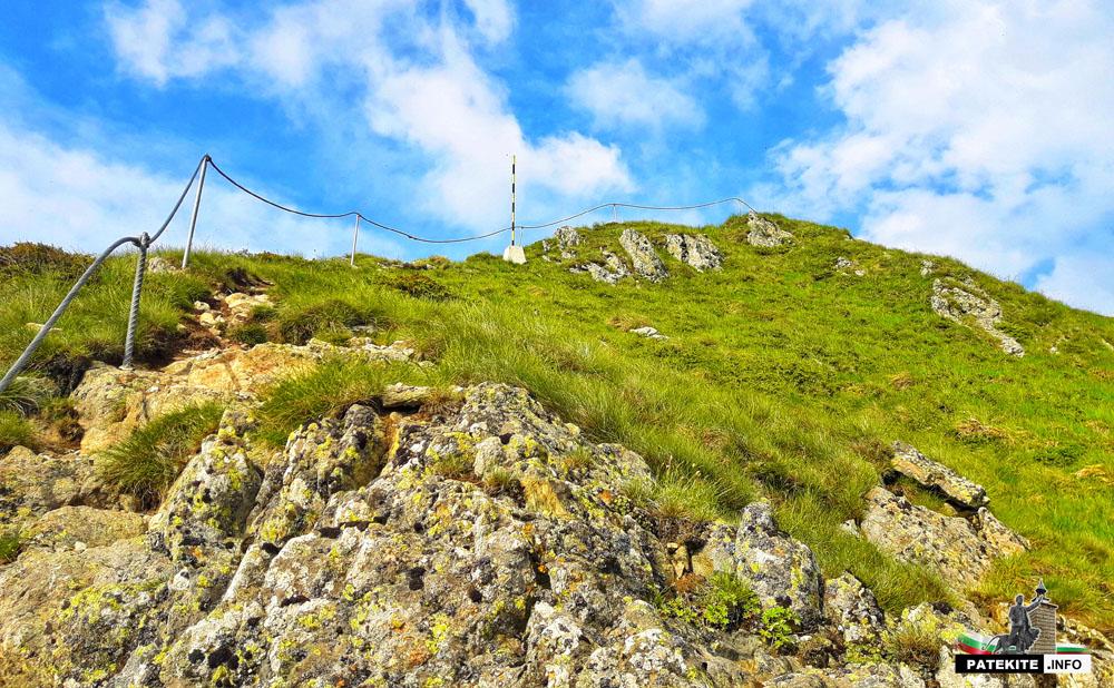 Изкачване на връх Голям Купен