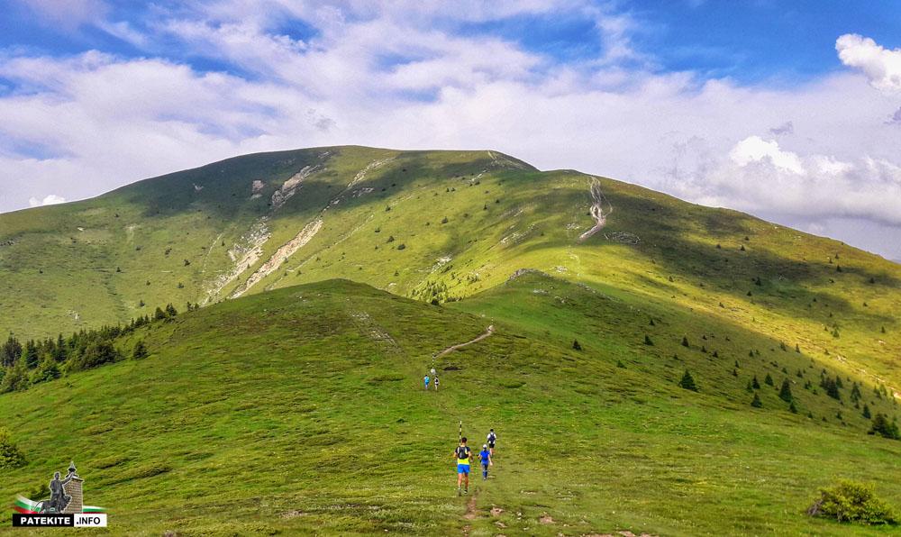 По пътя към връх Левски