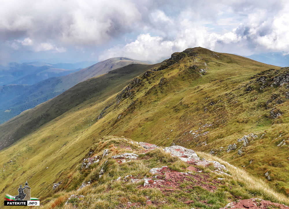 Гледката от връх Миджур