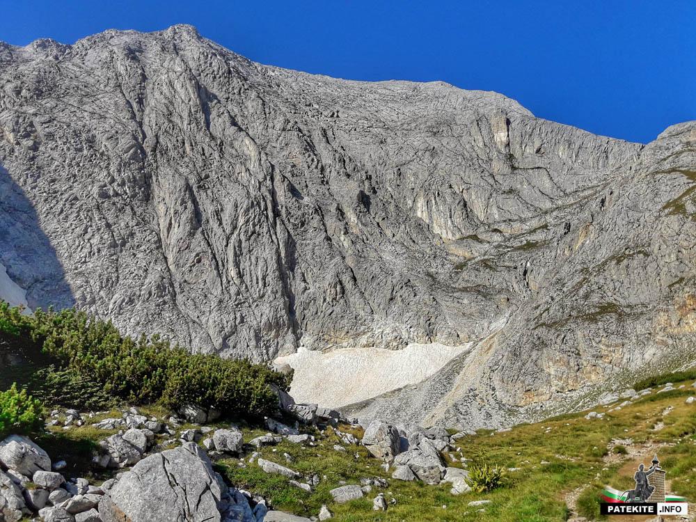 Местност казаните преди връх Вихрен