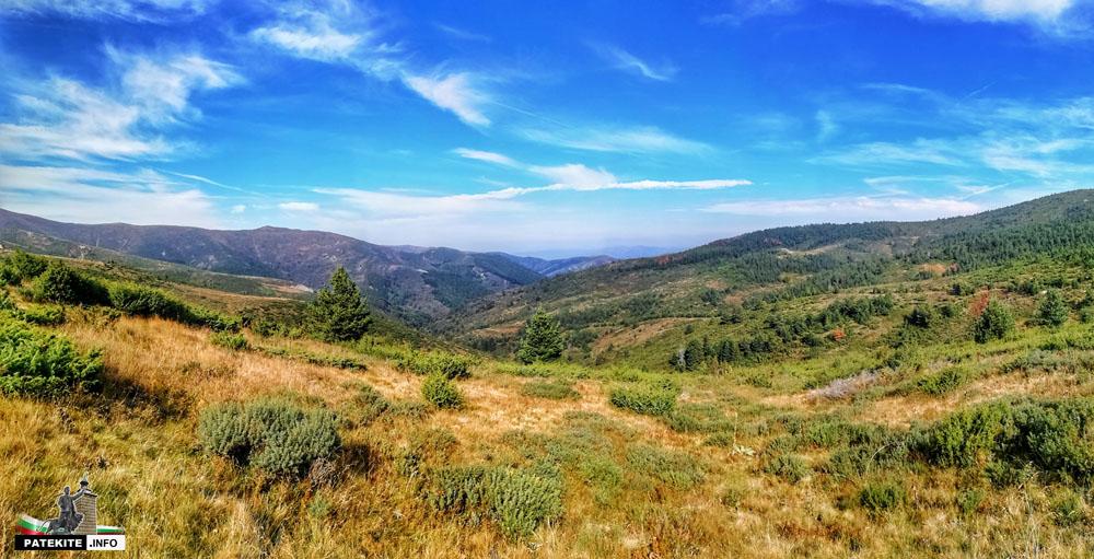 Панорама от Осогово