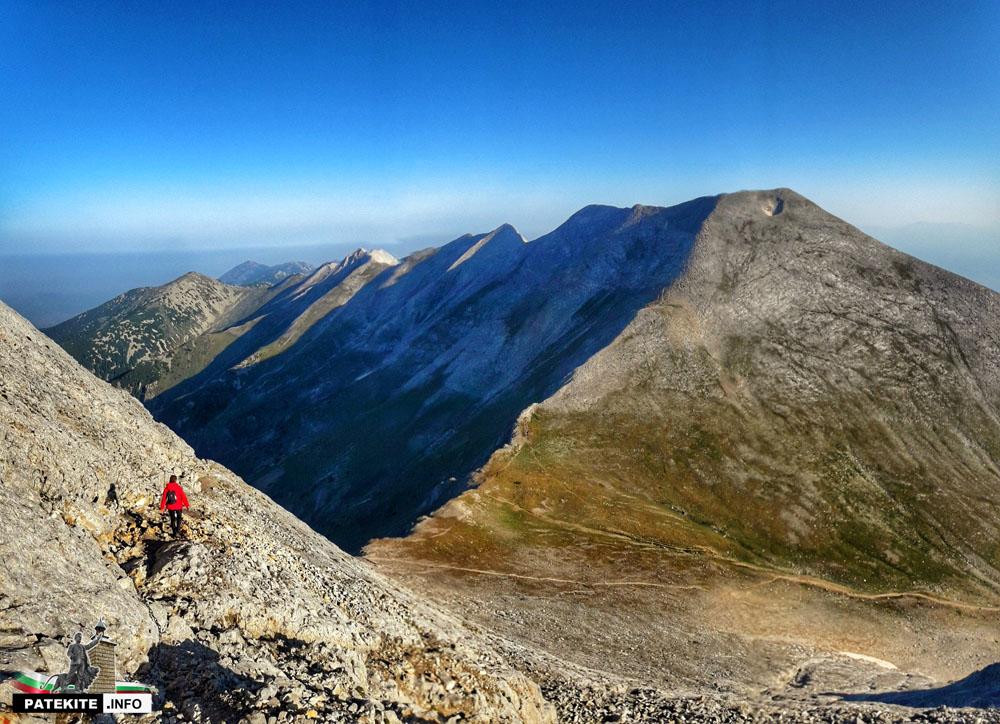 Спускане от връх Вихрен
