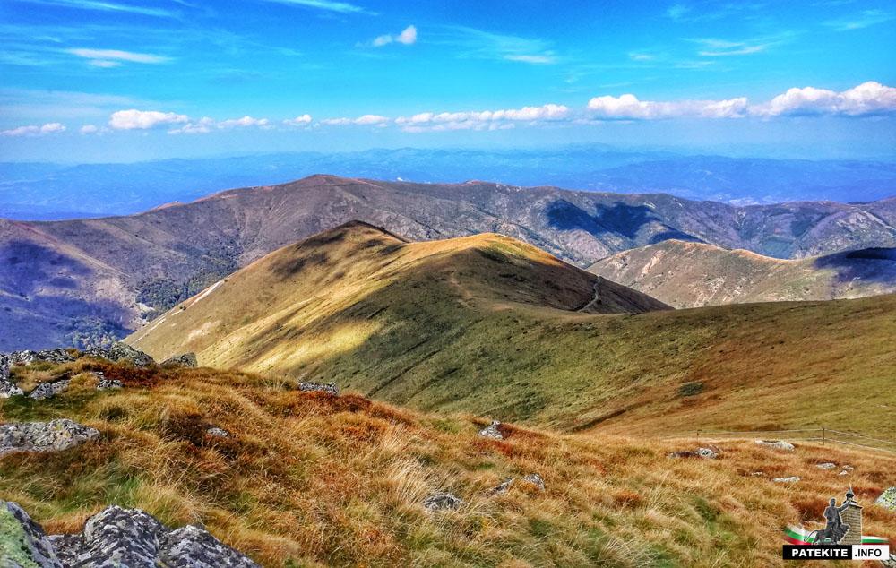 """Изглед от връх """"Шапка"""""""