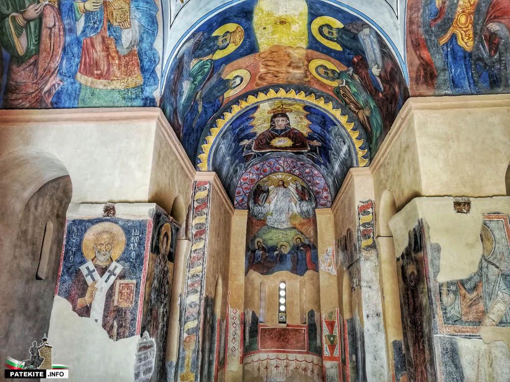 """Стенописите в църква """"Свети Георги"""" в Кюстендил"""