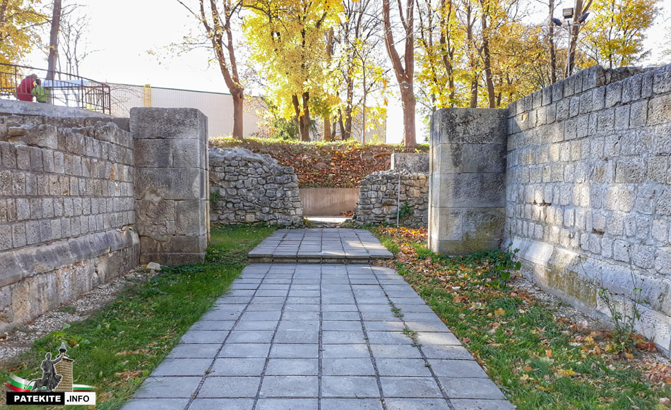 Северната порта на Абритус