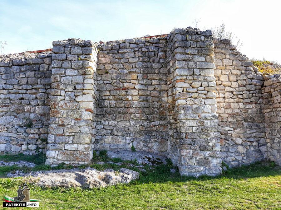 Крепост Червен - цитадела