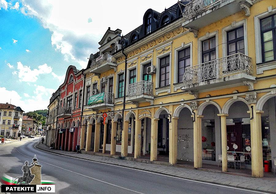 Бароковите къщи в Ловеч