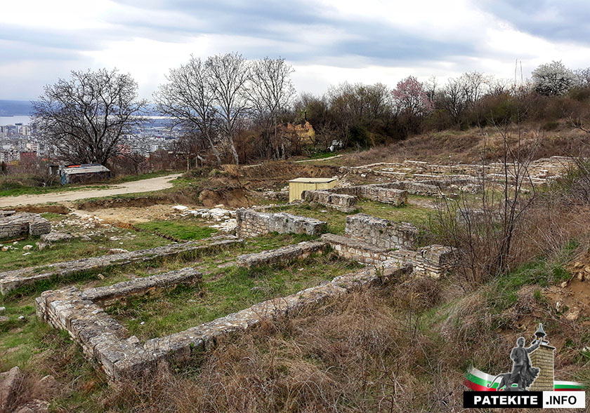 Манастирът на княз Борис I край Варна