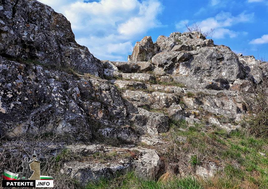 Крепост Адина - вход