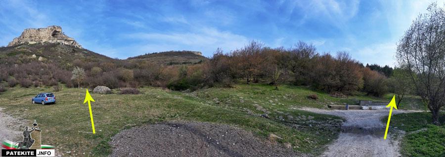 Петрич кале - маршрут за изкачване