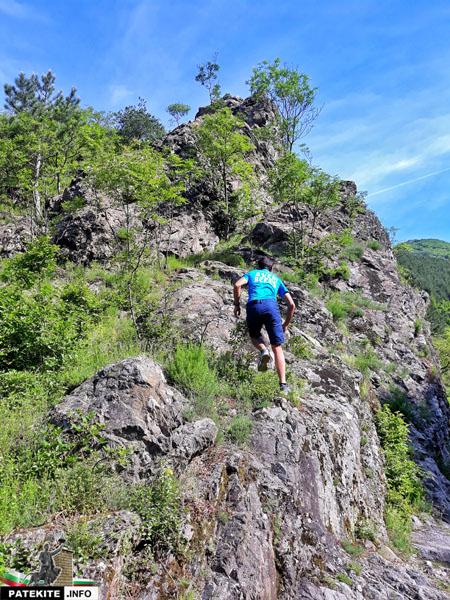 Маршрут до Сопотски водопад