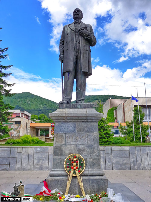 Паметник на Иван Вазов в Сопот