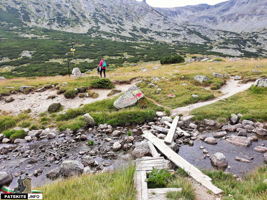 Начало на изкачването на връх Дено
