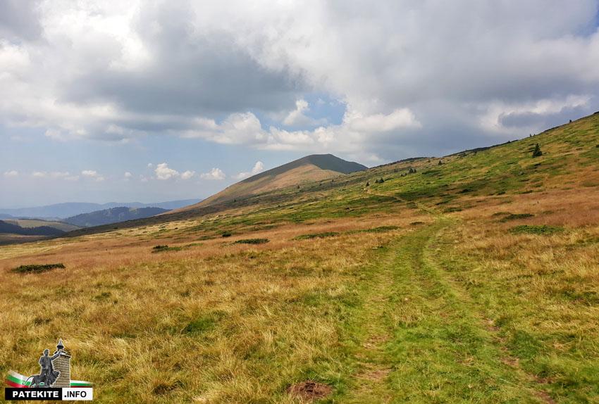 Маршрут към връх Ком