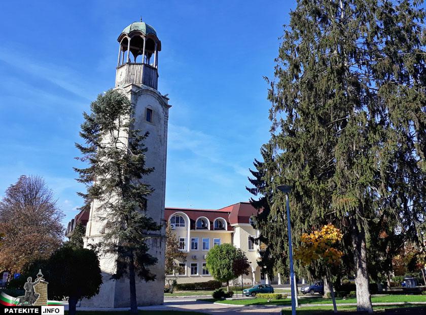 Часовниковата кула в Разград