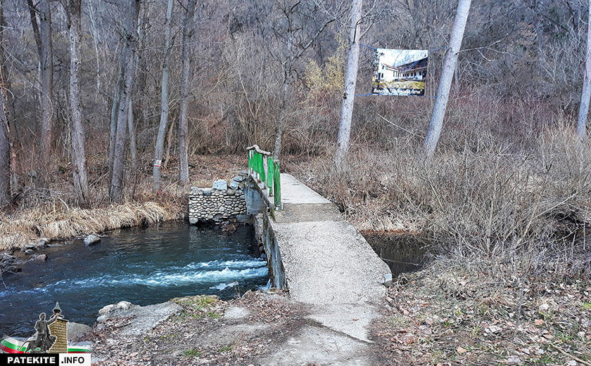 Мост над Искър към Урвич