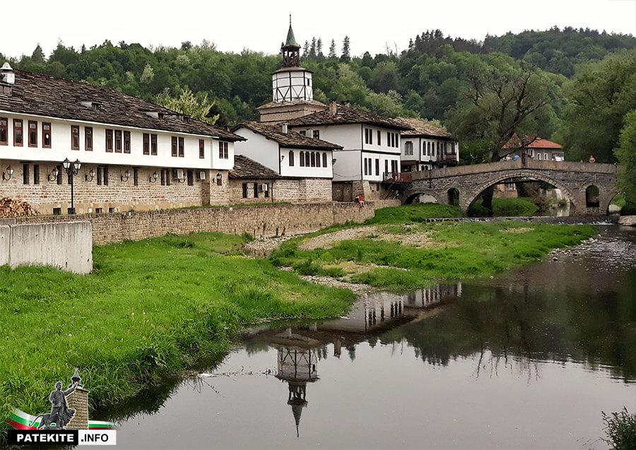 Трявна - Кивгиреният мост и часовниковата кула