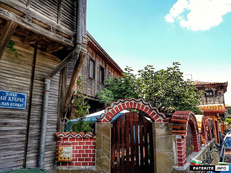 Стари поморийски къщи