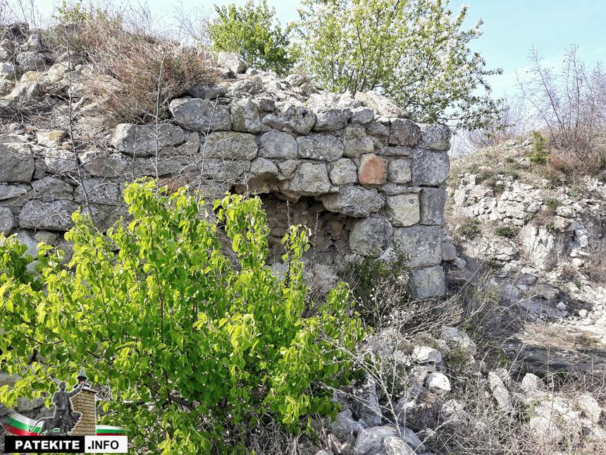 Петрич кале - стена