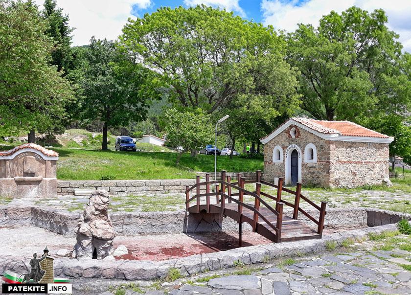 Хълмът Трапето в Сопот