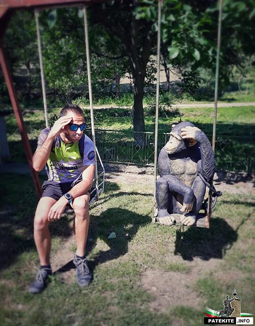 Маймуни в Староселец