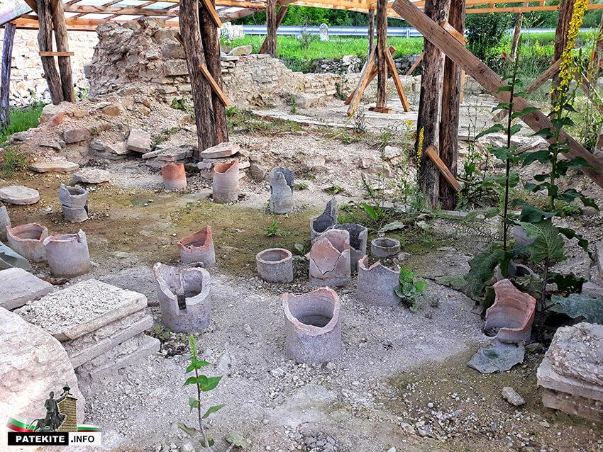 Крепост Ковачевско кале - римски терми