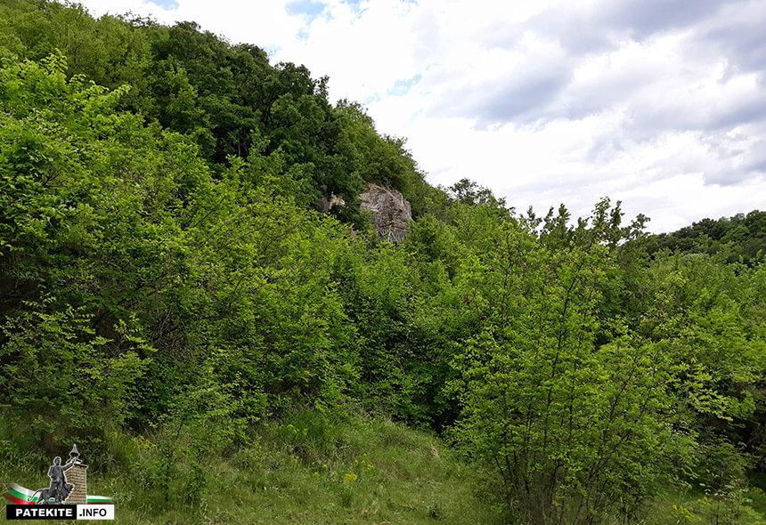 Скален манастир Св. Георги село Петров Дол