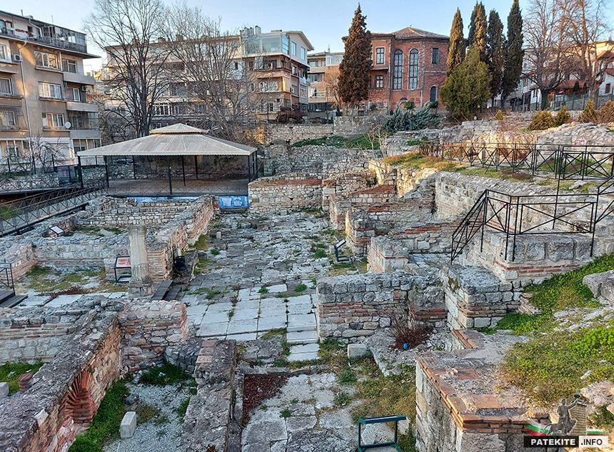 Малки римски терми - Варна
